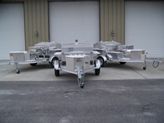 Barbecue, Barbeque, BBQ Grill Trailers